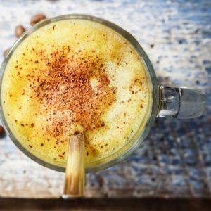 Turmeric Ginger Cinnamon Latte