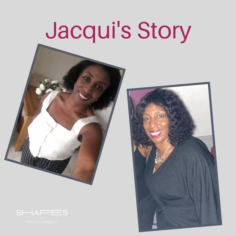 Blog post about loosing weight with Pilates - Jacqui's before and after