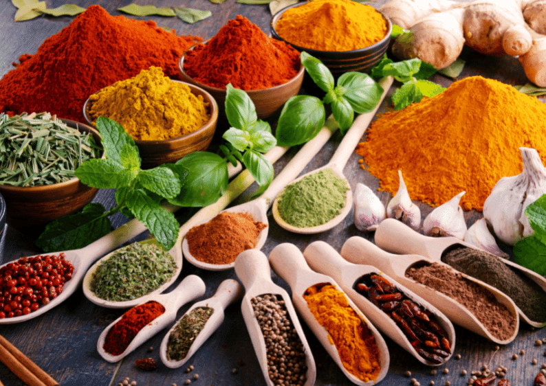 herbs and spices carry remarkable health benefits